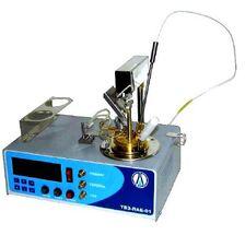 Полуавтоматический аппарат для определения температуры вспышки в закрытом тигле ТВЗ-ЛАБ-01