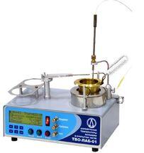 Полуавтоматический аппарат для определения температуры вспышки в открытом тигле ТВО-ЛАБ-01
