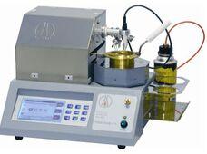 Автоматический аппарат для определения температуры вспышки в открытом тигле LOIP