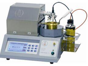 Автоматический аппарат для определения температуры вспышки в открытом тигле ТВО-ЛАБ-11