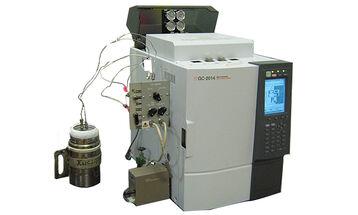 Газохроматографический комплекс для определения содержания примесей углеводородов жидком и газообразном кислороде