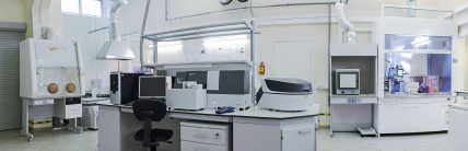 PROPRIETARY ACCREDITED ANALYTICAL LABORATORY IN SAINT-PETERSBURG.